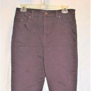 gloria vanderbuilt amanda jeans sz 6